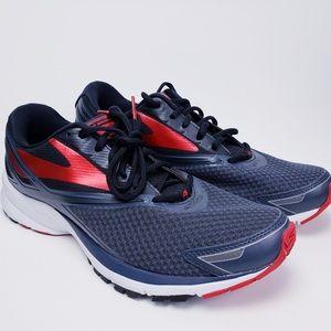 NEW Brooks Launch 4 Grey/Black/Red Running Shoe